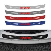 90 см x 1 см/101x12,3 см Защитная Наклейка на задний бампер автомобиля для Hyundai Tucson Solaris I30 Creta Ix35 IX25 аксессуары для автостайлинга