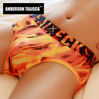 ANDERSON TALISCA, брендовые, новые, Модальные, мужские трусы, нижнее белье, мужские трусы, новинка, Ropa Interior Hombre Man Cueca Masculina, размеры M-3XL 1101