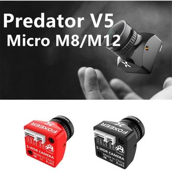 Foxeer Predator V5 mikro etui na cały telefon M12 1000TVL kamera FPV kamera OSD 16 9 4 3 PAL NTSC przełączane 1 7mm obiektyw 4ms WDR Racing Drone tanie i dobre opinie LeadingStar CN (pochodzenie) Metal Klasa montażu Other ODBIORNIKI 5 0*4 0*3 0cm Pojazdów i zabawki zdalnie sterowane M12 M8