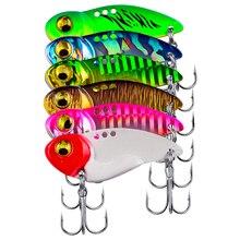 Cicada Lure Vibrations Metal Vib Spoon Vib-Bait Artificial Vivid 5g 8g 14g 20g 3d-Eyes