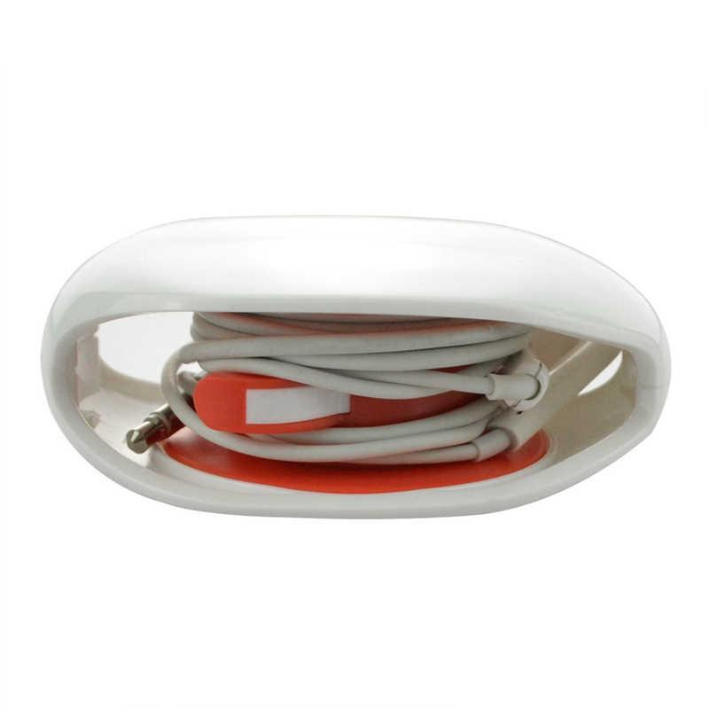 Automatyczne zamykanie kabel drutu organizator nawijarka Smart Wrap dla drutu słuchawka douszna słuchawki 5 kolory odpornego na kurz