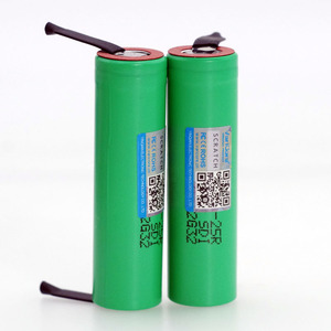 Image 5 - 100% 새로운 브랜드 18650 2500mAh 충전식 배터리 3.6V INR18650 25R M 20A 방전 + DIY 니켈