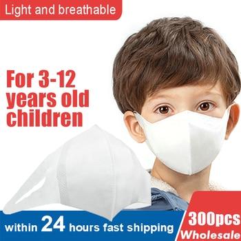 100pcs/200pcs/300pcs Children/kids Disposable Mask 3 Layers Respirator Non-woven Kids Mask 3D Mouth Muffle Face Mask Health Care