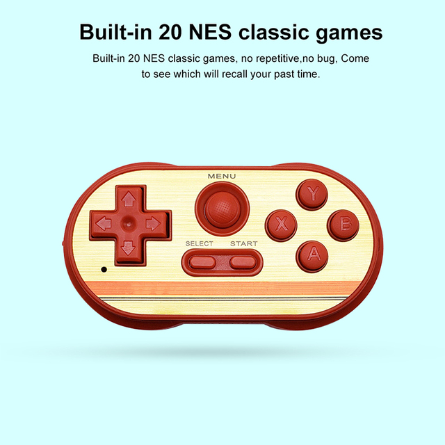 Game Console Mipad 8 Bits Handheld MINI Game Console TV Handheld Video Game Console Easy Operation