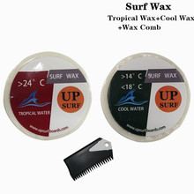 Natural Surfboard Tropical wax+Cool wax+surf wax comb surf for surfing sport