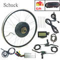 Schuck Электрический велосипед конверсионный комплект 48V1500W задний маховик ebike мощный бесщеточный беззубчатый мотор имеет дисплей LCD3