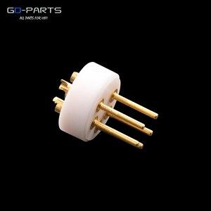 Image 3 - EIZZ conector DIN macho de 5 pines LP tocadiscos, grabador de tonos, Conector de vinilo, aislador de cobre chapado en oro de 24k, PTFE 1 ud.