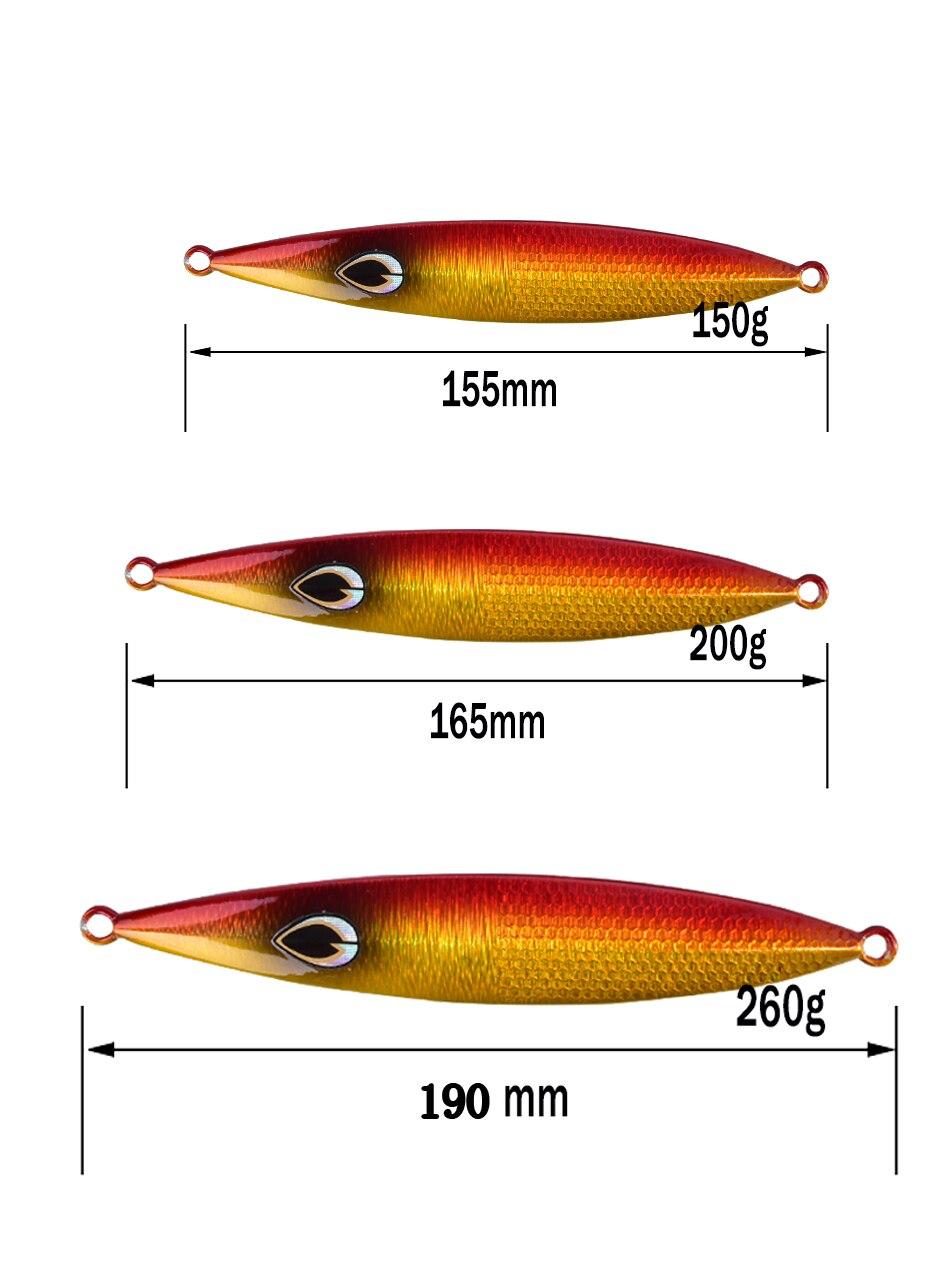 isca de pesca chumbo colher de peixe isca vertical jigging isca