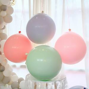 Image 2 - 5/10/18/24/36 inch Pastel Candy Balloons Wedding Party Round Helium Macaron Balloon Arch Decoration