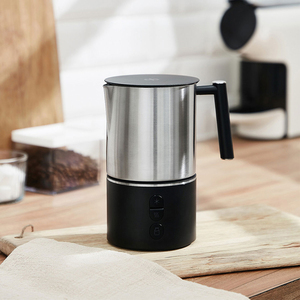 Image 4 - DEVISIB Automatic Milk Frother Electric Steamer Cappuccino Hot /Cold Coffee Stainless Steel Dishwasher Safe