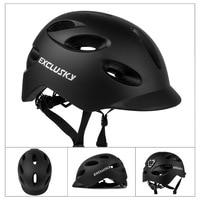 Luz Led casco de bicicleta ciudad Roja casco bicicleta con carga USB Mtb seguridad deportes tapa de casco de ciclismo capacete bicicleta