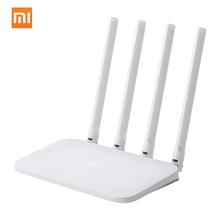 Oryginalny Xiaomi Mi Router WIFI 4C 64 RAM 802 11 b g n 2 4GHz 300 mb s 4 anteny inteligentne routery bezprzewodowe Repeater dla Home Office tanie tanio CN (pochodzenie) wireless 300 mbps Mi Router 4C Wi-fi 802 11g Wi-fi 802 11b Bezprzewodowy dostęp do internetu 802 11n Firewall
