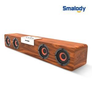 Wooden Speaker Subwoofer Computer Soundbar Fm-Radio Bluetooth Home Wireless Stereo Music