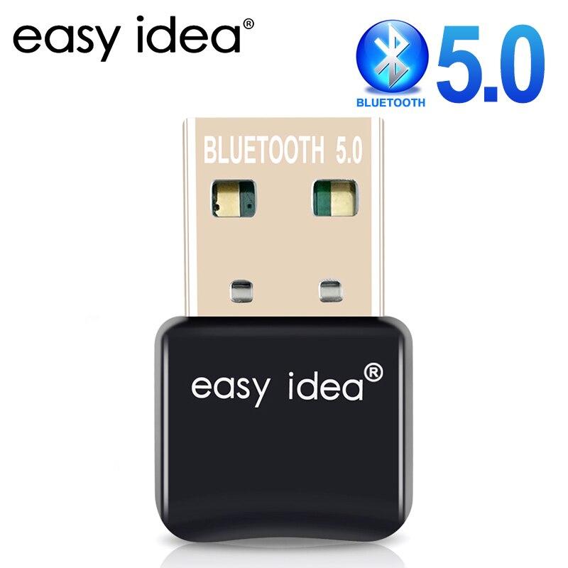 محول بلوتوث USB بلوتوث 5.0 قطعة محول USB بلوتوث دونجل للكمبيوتر بلوتوث 4.0 جهاز استقبال للموسيقى الارسال