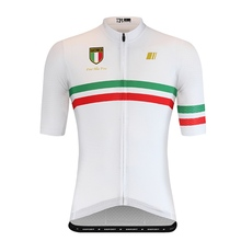 Gsport ride race white pro team areo cycling jersey short sleeve with newest fabric for summer top quailty classic