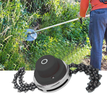 Universal Lawn Mower Chain Grass Head Chain Grass Trimmers Weed Eater Tool Lawn Machine For Garden Grass Brush Cutter Tools