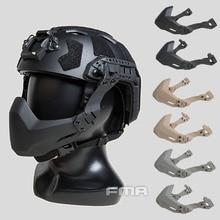 FMA Folding Half Seal Mask Tactical protective mask Helmet half Maskfor Airsoft Helmet Accessories A/B DE/BK/FG TB1363/TB1364