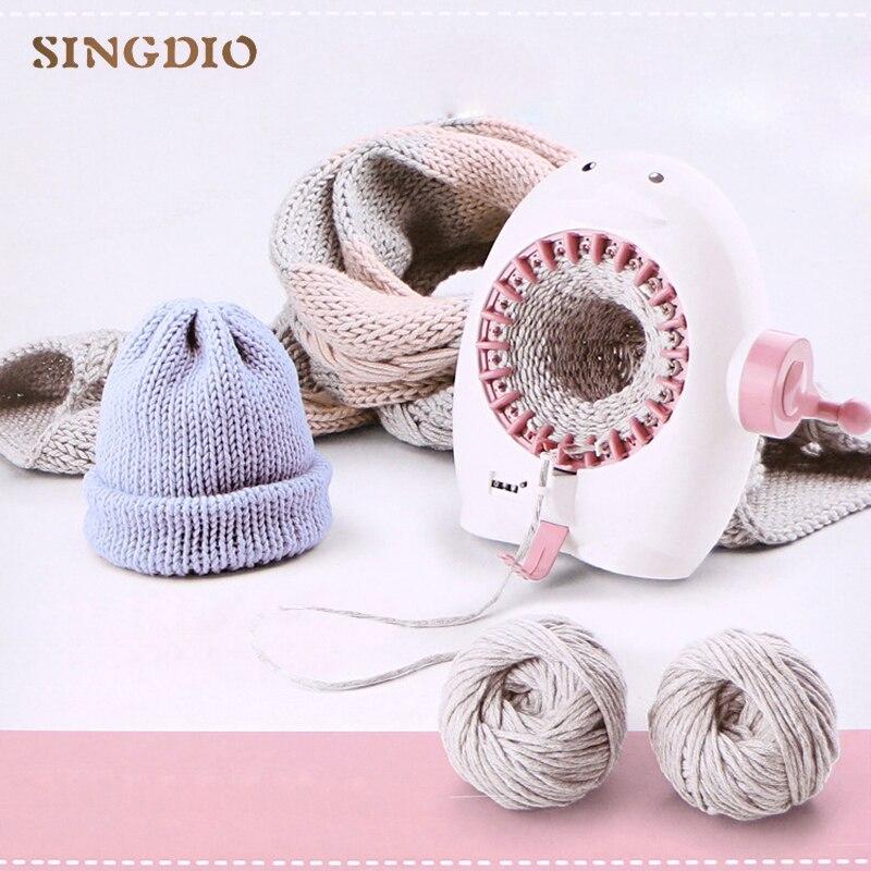 Penguin Hand Wool Knitting Machine Wool Knitting Machine DIY Yarn Knitting Toy