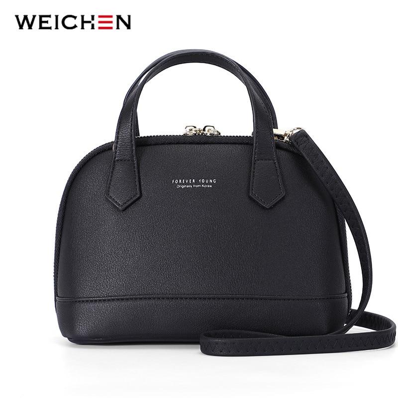 Brand Designer Shell Shoulder & Handbag For Women Soft Synthetic Leather Messenger Crossbody Female Bag Ladies Tote Girls Sac
