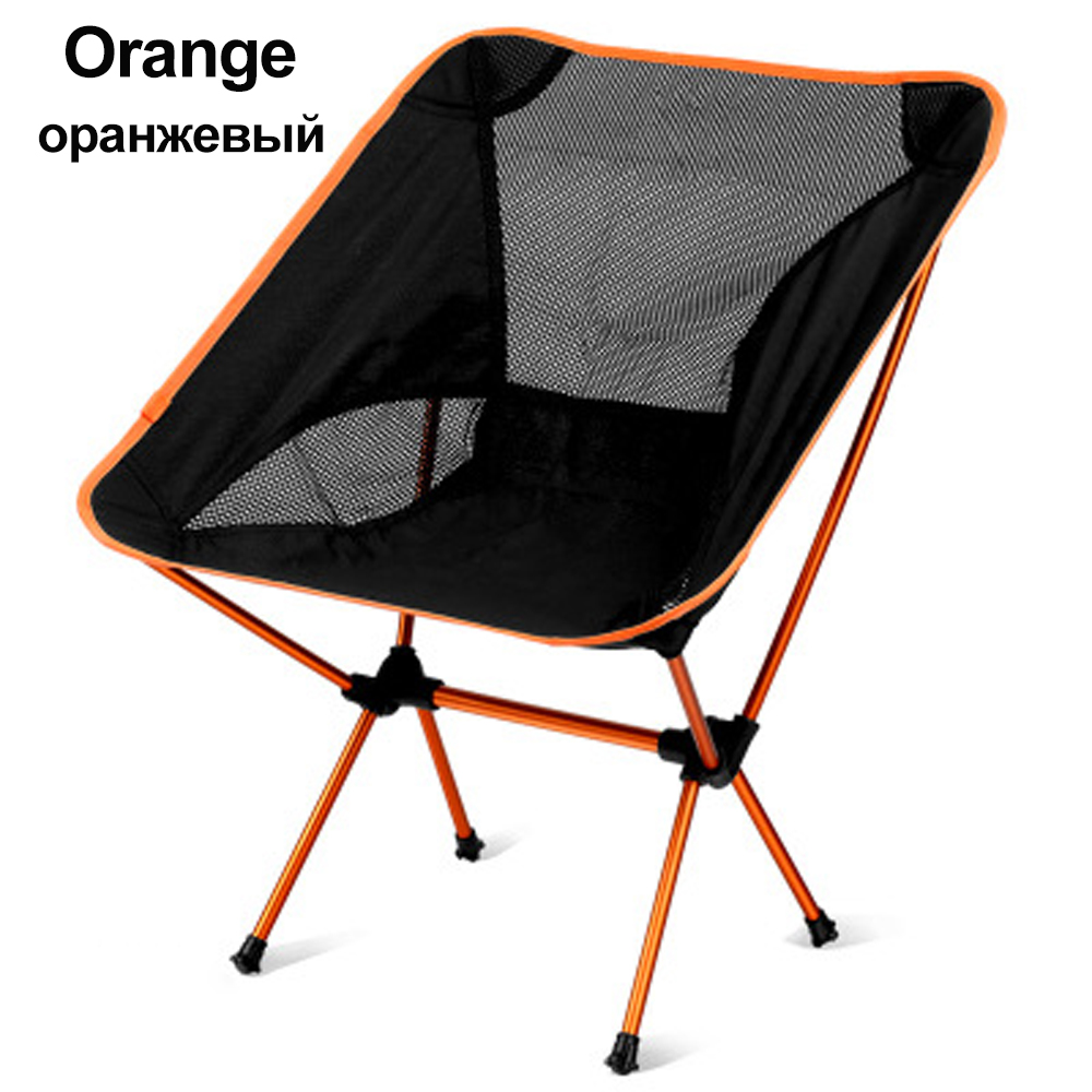 HooRu Folding Camping Chair Outdoor Portable Lightweight Backpacking Chair with Carry Bag for Hiking Picnic Finishing Travel