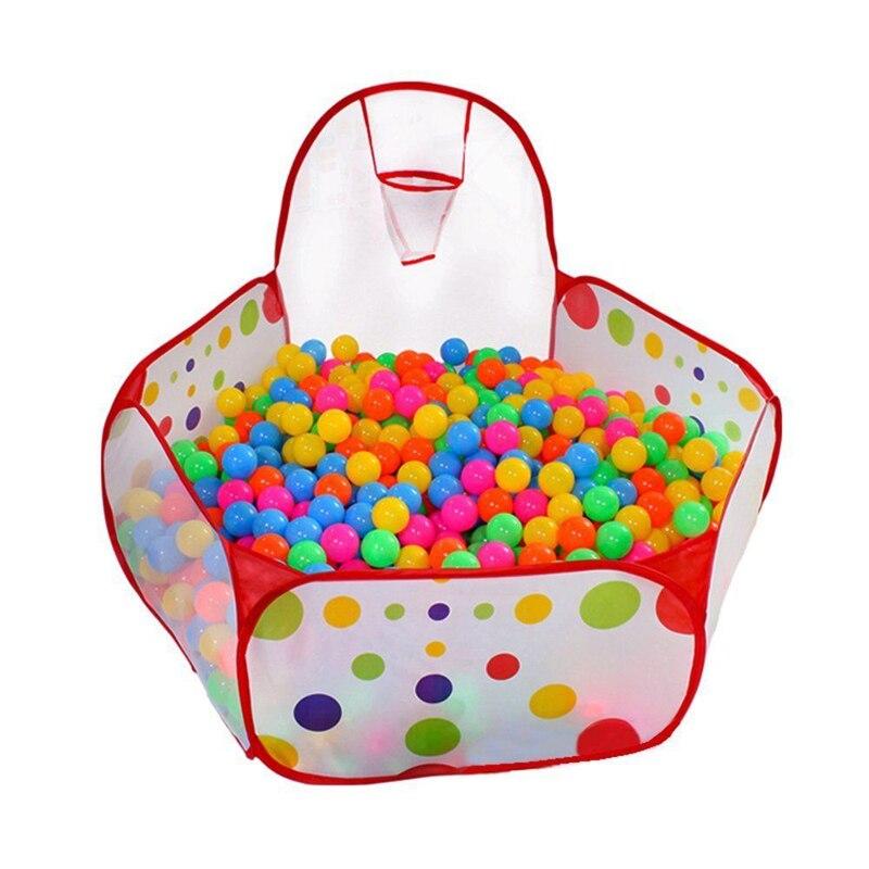 Новейшие образовательные горячие портативные Младенцы, малыши, дети, мяч, бассейн, Игровая палатка для детей в помещении и игрушка для игр на открытом воздухе