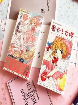 цена 180pcs/Set Anime Cardcaptor Sakura Paper Postcard/Greeting Card/Message Card/Christmas and New Year gifts онлайн в 2017 году