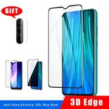 מזג זכוכית עבור Xiaomi Redmi הערה 8 פרו 9 פרו 9s מסך מגן redmi הערה 8 8t הערה 9 אנטי כחול אור ray פרטיות זכוכית