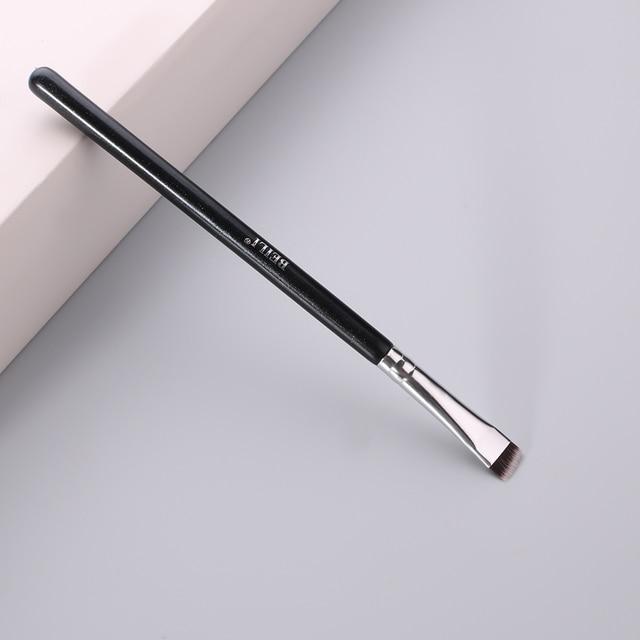 BEILI Black/Pink Eyebrow Makeup Brushes Single Professional Eyeliner Eyelash Concealer Brush Foundation Brushes Make up Tools 6