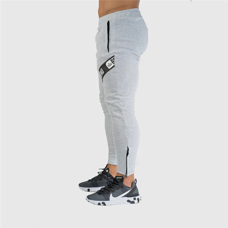 Pants Men Pantalon Homme Streetwear Jogger Fitness Bodybuilding Pants Pantalones Hombre Sweatpants Trousers Men SH 35