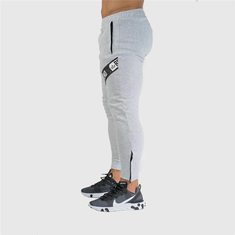 Pants Men Pantalon Homme Streetwear Jogger Fitness Bodybuilding Pants Pantalones Hombre Sweatpants Trousers Men SH 13