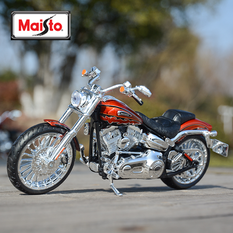 Maisto 1:12 2014 CVO Breakout Diecast Alloy Motorcycle Model Toy