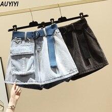 Pants AUYIYI Shorts Age-Reduction Slimming Fat-Mm Plus-Size Summer Fashion Women's All-Match