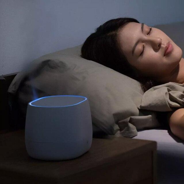 Youpin HL Aromatherapie Diffusor Luftbefeuchter Pro Wireless Ruhigen Öl Nebel Maker Typ-C Umgebungs Licht Luft Aroma Luftbefeuchter 2020 NEUE 4