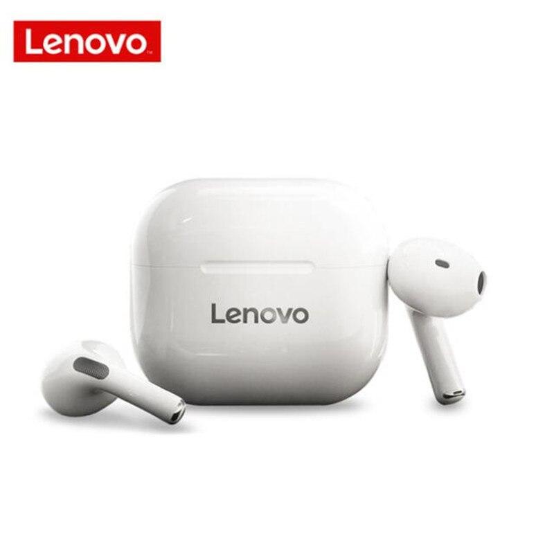Lenovo LP40 беспроводные наушники-вкладыши TWS Bluetooth наушники сенсорное управление Спорт стерео гарнитура для IOS и Android мобильный телефон
