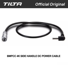 Tilta 12 24vマイクロdcオスbmpcc 4 18kカメラ電源ケーブルbmpcc 4 18kバッテリー電源側ハンドル