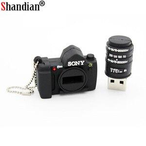 Image 4 - 16GB SLR מצלמה USB דיסק און קי 32g מצחיק 64gb USB דיסק און קי זיכרון מקל כרטיסי מיני עט כונן משלוח חינם זיכרון מקל בראק