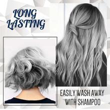 1Pc Hair Color Wax Diy Mud Styling Pomade Silver Grandma Cream Gel Paste 30g/120g Hair Women Natural Dye Grey For Men Dispo C0A0
