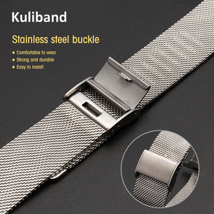 Тонкий металлический ремешок для Apple Watch 6/SE/5/4/3/2/1 38 мм 40 мм, ремешок из нержавеющей стали для часов iwatch series SE/6 42 мм 44 мм, браслет