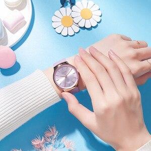 Image 5 - Nouvelle élégante montre pour femme Julius japon Movt Hours mode horloge Bracelet en cuir véritable fille anniversaire noël boîte cadeau