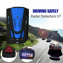2020 New Car Radar Detector English Russian Auto 360 Degree Vehicle V7 Speed Voice Alert Alarm Warning 16 Band LED Display car radar detector english russian auto 360 degree vehicle v3 speed voice alert 87he