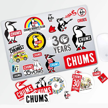 26 Pcs/Set Outdoor Stickers Waterproof Pegatinas Logo Penguin Camping Decals PVC Waterproof For Laptop  Guitar Skateboard Motor