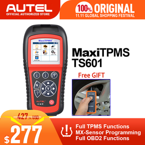 Image 1 - Autel maxitpms TS601 obdii診断ツールOBD2 スキャナーtpms自動車コードreaser tpmsモニターツール 433mhz 315mhzセンサー