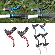 Mountain Road Bicycle Brake Lever Colorful Aluminium Alloy Universal Handle Front Folding Bike Lever DiscCycling Accessories mountain road bicycle brake lever colorful aluminium alloy universal handle front folding bike lever disccycling accessories