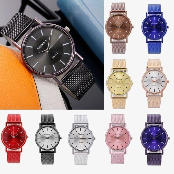 Fashion Women Female Quartz  Watch  Ladies Life Waterproof Business Luxury  Watches  Dress Golden Wristwatch Thanksgiving Gift