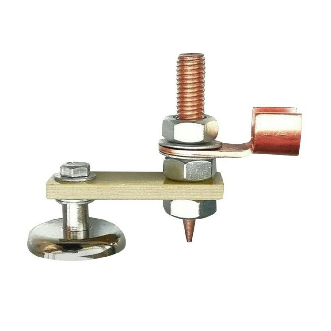 Magnetic Welding Support Ground Clamp Welding Magnet Head Safety Wire Holder With Copper Tail Welding Equipment