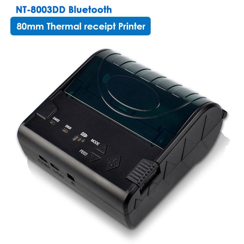 NETUM Tragbare Mini 58mm Thermische Drucker Mini 80mm Empfang drucker mobile USB empfang drucker