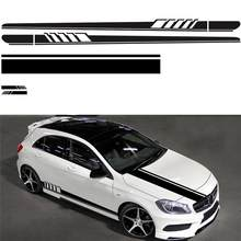 Universal Styling Car Stickers Auto Full Body DIY Car Stickers Long Stripe Vinyl Stickers Waterproof Self Adhesive Stickers