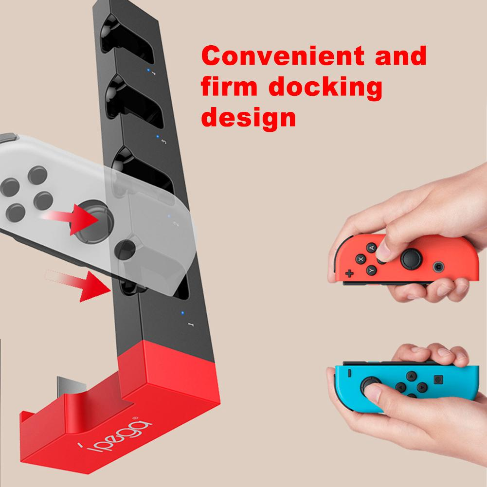 IPega PG-9186 Game Controller Charger Charging Dock Stand Station Holder For Game Console With Indicato of Nintendo Switch