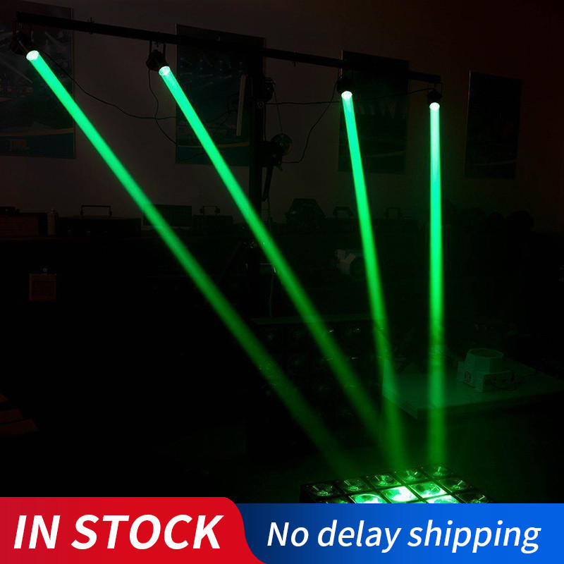 1PC Disco Light Stage Lights KTV Portable Adjustable Beam Lights Moving Head LED Mood Light Wedding Supplies Stage Lamp