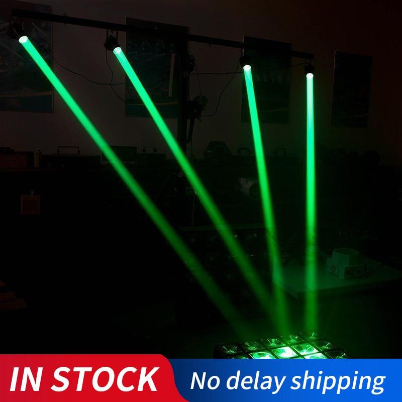 1PC Disco Light Stage Lights KTV Portable Adjustable Beam Lights Moving Head LED Mood Light Wedding Supplies Stage Lamp